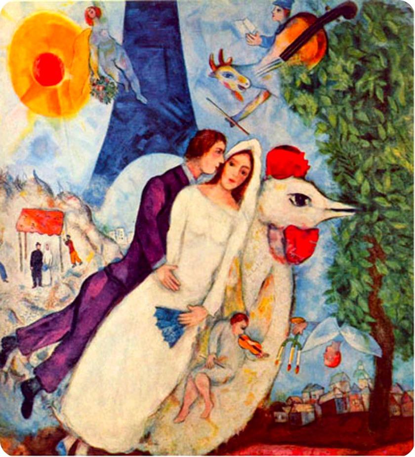 Marc Chagall, Les Maries