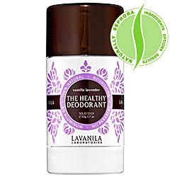 deodorant, lavanila